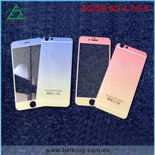 For iPhone 6 Gradient Color Screen Film, Colorful For iPhone 6 Tempered Glass Screen Protector
