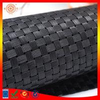 pvc vinyl plastic raw material for making furniture plastic woven rattan for weaving outdoor office ground mat vinyl floor mat