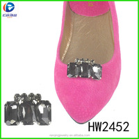 HW2452 2014 Latest Moveable Shoe Clips Export To Uk Market