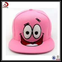 custom comfortable snapback hat for baby