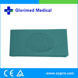Sterile fenestrated drape cost of with aperture
