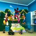 (W1-00016) flor papel Diseño 3d pared mural de la pared