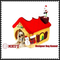 Christmas New Accessories Top Quality Luxury Christmas Pet Dog House, Pet Dog Bed