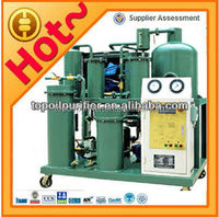 Economical mineral oil purification equipment TYA, low power consumption, ISO