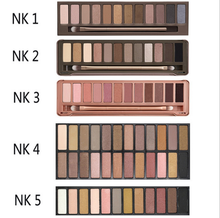 Professional popular naked eye shadow palette