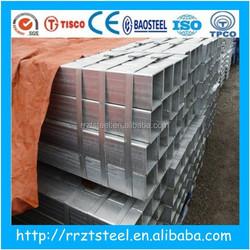 rectangular tube Material and no Standard rectangular tube