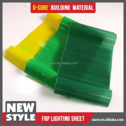 hot sale clear plastic roof covering frp sheet
