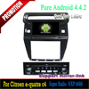 8 inch Android 4.4 In Dash car HD Capacitive Touch Screen Car DVD Player GPS Navigation Stereo for Citroen C4 2012