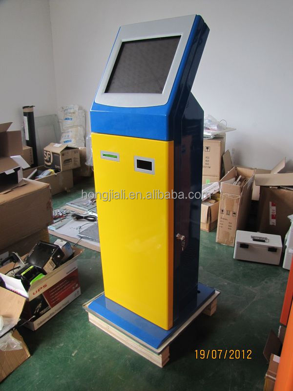 All-in-one cash Payment Kiosk Machine / Bill Payment Kiosk / Card Reader Self Payment Kiosk Terminal HJL-3516