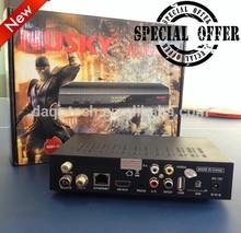 HD sks/iks satellite receiver good remote control azbox