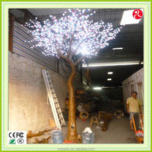led light changing color tree