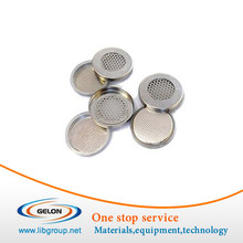 Meshed CR2032 Coin Cells Cases for Lithium Air Battery Research - 10pcs/pck - CR2032-CASE-304-ME