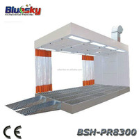BSH-PR8300 CE and ISO approved paint booth lights/car paint oven/electrostatic spray booth