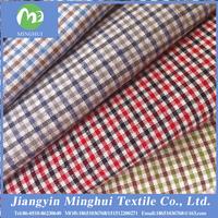 100% cotton yarn dyed woven fabric / men's shirting fabric / cotton fabric