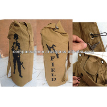 Bucket bag men outdoor hiking tactical backpack bag canvas travel bags cities, military fans