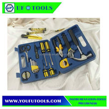 17 Pieces Precision Tools Household Tool Sets Home Repairing Tool Kits With Tool Box Promotional Gifts