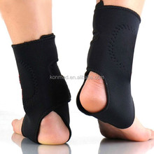 2015 High quality Elastic tourmaline self-heating pad magnetic therapy ankle guard pad heated ankle support padded