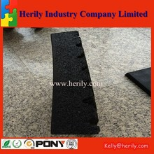 1000mmx 1000mmx 20mm Rubber playground Flooring/outdoor floor rubber