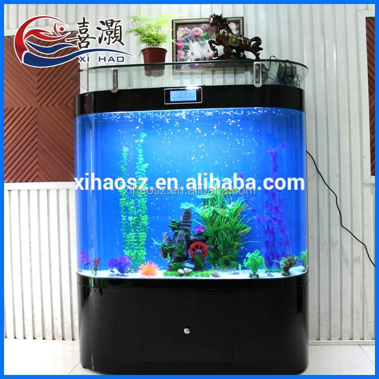 Best quality eco friendly arch bar bending vertical for Vertical fish tank