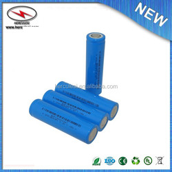 High Power LFP battery/18650 3.2V Lifepo4 Battery 1100mah For Electric Cars
