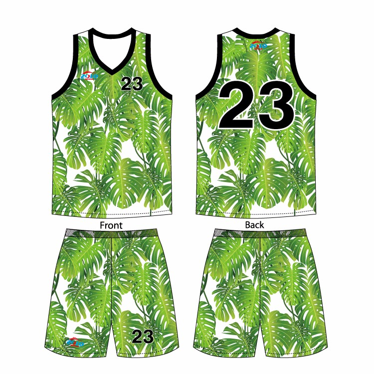 girls' basketball jersey design