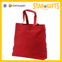 Promotional products organic cotton tote bag/standard size cotton tote bag/canvas wholesale tote bags