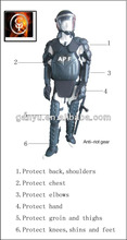 No tóxico equipo antimotines distribuidor/traje de armadura/disturbios traje/anti disturbios traje