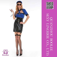New hot style best quality sell well Sexy Police Cop Dress Halloween costumes adult Sexy fancy costumes