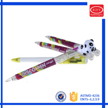 Light Top Set of 2 KH4204 Colored Barrel LED Ball Pen