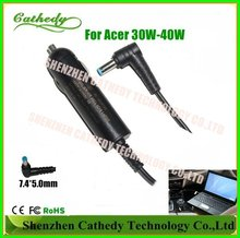 Netbook Battery Car Charger Adapter For Acer Aspire One