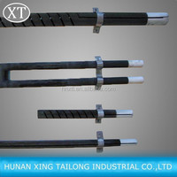 High Quality Straight Electric Sic Silicon Carbide Tube/Rod Heater