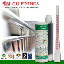 fastening anchor for handrail epoxy steel glue