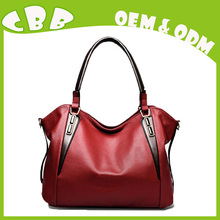 Branded china supplier trendy leather designer handbags