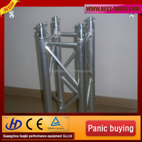 Aluminum stage lighting truss frame for evening performance