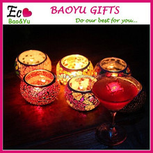 New Clear Glass Candle Tea Light Holder Candlestick Party Wedding Decoration
