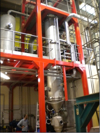 TFE high efficient factory price stainless steel used oil recycle vacuum distillation