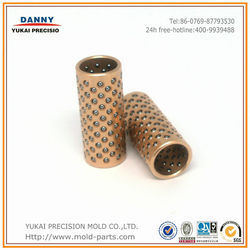 Professional producing Aluminium bronze ball bearing cages for guide post sets