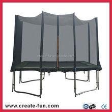 Createfun carré pas cher usine 8X12FT printemps Bungee trampoline avec filet