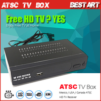 New HD PVR Digital ATSC TV Tuner 1080P TV Box Receiver support USB for Mexico/USA/Canada