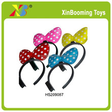 Wholesale cute kids hairpin Party baby hair bowknot accessories