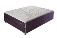 Single Side Comfortable Pocket Spring Mattress, Luxury Bedding Furniture For Sale