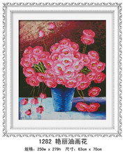 """The colourful oil painting flower "" DIY Full Diamond Painting"