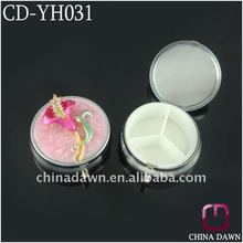 2012 Newest Wholesale Gift Compact Pillbox CD-YH031