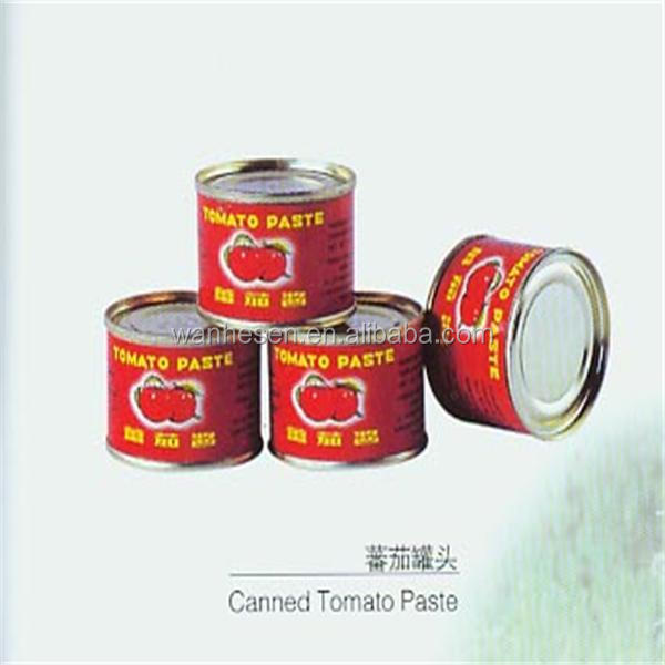Easy open 400g/tin tomato table paste/tomato sauce factory ODM/OEM
