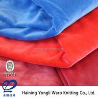 China Wholesale High Quality Super Soft Minky Dot Fabric Micro Velboa, Microfibre Velboa