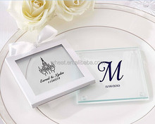 2014 New Personalized Glass Coaster Wedding Favors