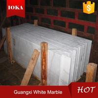 guangxi white marble polish tiles price