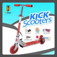 Wholesale Bmx Bikes Sparkling Child Kick Scooter, PU Wheel Scooter, Folding Scooters