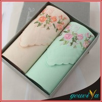 High Quality Cotton Hand Embroidery Handkerchief