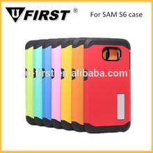 Nueva venta caliente soporte para teléfono para samsung S6 con verious color